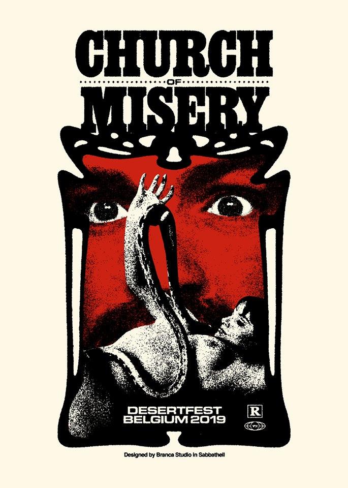 Church of Misery -gig-
